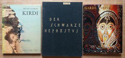 [ETHNOPHOTOGRAPHIE - GARDI, RENÉ] 5 ouvrages...