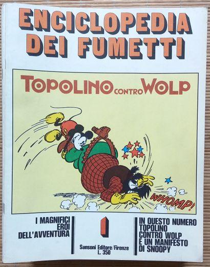 [BANDE DESSINÉE] 39 fascicules, en italien....