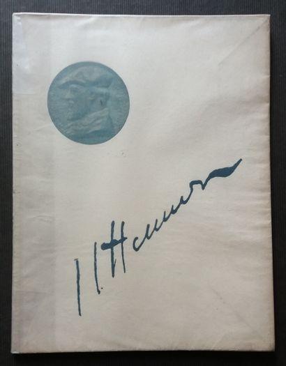 [ART - HENNER, JEAN-JACQUES] 4 ouvrages sur Jean-Jacques Henner, dont le catalogue...