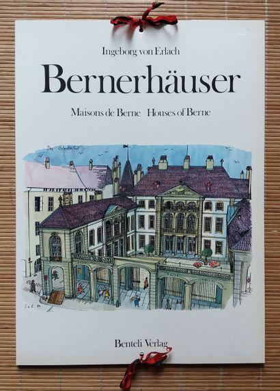 """[ARCHITECTURE EN SUISSE] Lot de 8 ouvrages. *Faksimile des """"Ascona Bau-Buches"""" von..."""