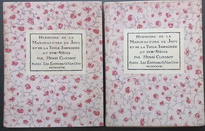 [TOILE IMPRIMÉE] 1 ouvrage en 2 volumes....