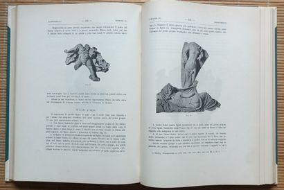 [ARCHÉOLOGIE - ITALIE] 88 ouvrages. *Atti della Accademia Nazionale dei Lincei....