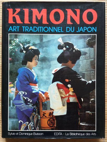[ART DU JAPON] 6 ouvrages. *Kimono. Art traditionnel...