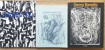 [ART - BASELITZ, GEORG] 3 ouvrages. *Georg Baselitz. 23 Holzschnitte. Maximilian...