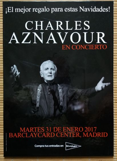 [AZNAVOUR, CHARLES - MUSIQUE] 6 ouvrages,...