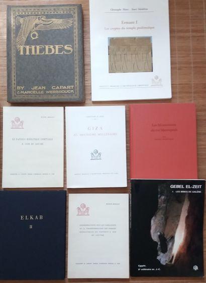 [ARCHÉOLOGIE - ÉGYPTOLOGIE] 10 ouvrages. *Considérations sur les variations et la...