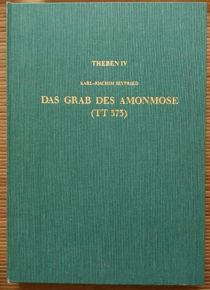 [ARCHÉOLOGIE - ÉGYPTOLOGIE] 7 ouvrages en allemand. *Streitwagentechnologie in der...