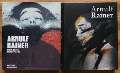 [ART - ARNULF, RAINER] 3 ouvrages sur Rainer Arnulf. *Arnulf Rainer. Vermächtnis...