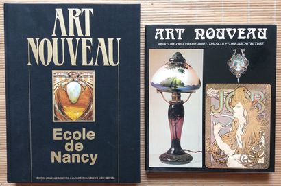 [ART NOUVEAU] 2 ouvrages. *Art Nouveau. École...