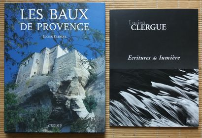 [AZNAVOUR, CHARLES - CLERGUE, LUCIEN] 2 ouvrages...