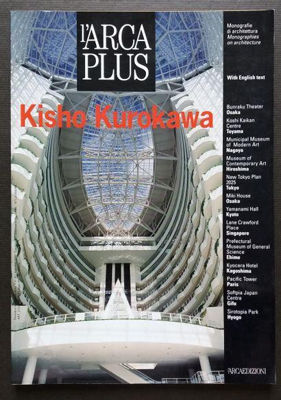 [ARCHITECTURE - MONOGRAPHIES D'ARCHITECTES] 8 volumes. *Kicho Kurokawa. L'arca Plus...