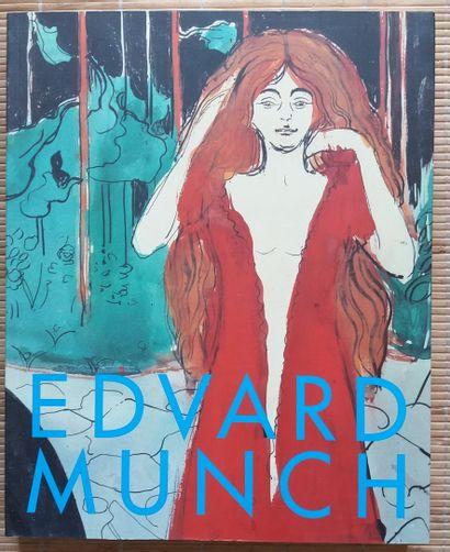 [ART - MUNCH, EDVARD] 4 ouvrages sur Edvard...