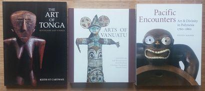[ART DU PACIFIQUE] 3 ouvrages en anglais....