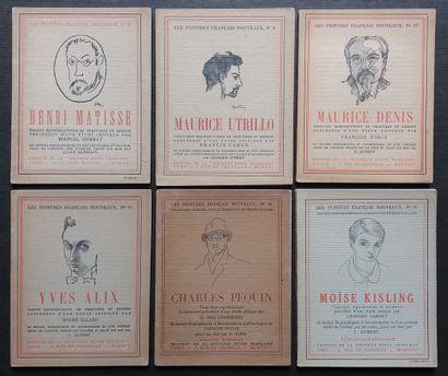 """[ART - LES PEINTRES NOUVEAUX] 6 ouvrages de la collection """"Les Peintres Nouveaux""""...."""