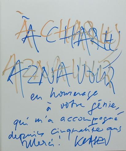 [AZNAVOUR, CHARLES - VOYAGES] 10 ouvrages,...