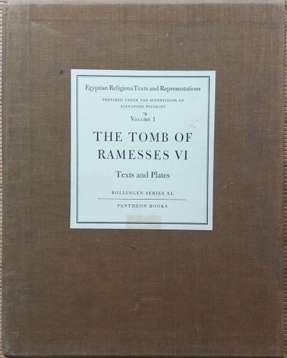 [ARCHÉOLOGIE - ÉGYPTOLOGIE] Un ouvrage en 2 parties, sous portfolio. *The Tomb of...