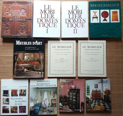 [MOBILIER] 11 ouvrages. *Le Mobilier Domestique....