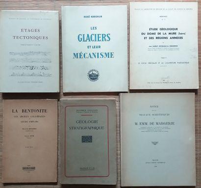 [GÉOLOGIE] 68 ouvrages, livres ou plaquettes,...