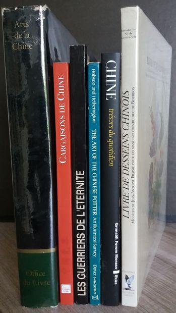 [ARTS DE LA CHINE] Ensemble de 6 ouvrages...