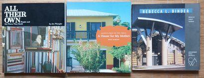 [ARCHITECTURE - AMERIQUE DU NORD] Lot de 20 ouvrages en anglais sur l'architecture...
