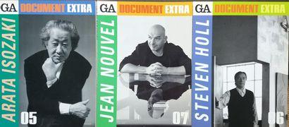 [ARCHITECTURE - MAGAZINES] 16 magazines d'architecture, brochés. *Global Architecture...