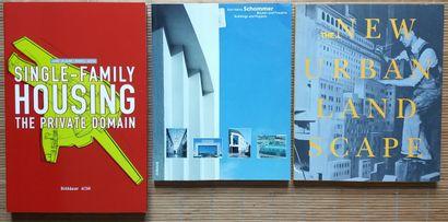 [ARCHITECTURE] Lot de 10 volumes, en anglais. *Single-Family Housing. The Private...