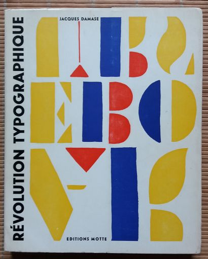 [TYPOGRAPHIE] 2 ouvrages. *Révolution typographique,...