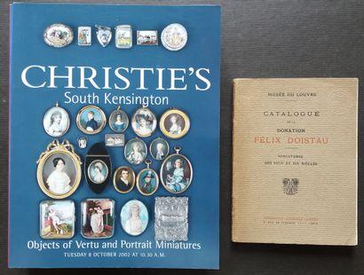 [MINIATURES] Lot de 12 ouvrages sur les miniatures,...