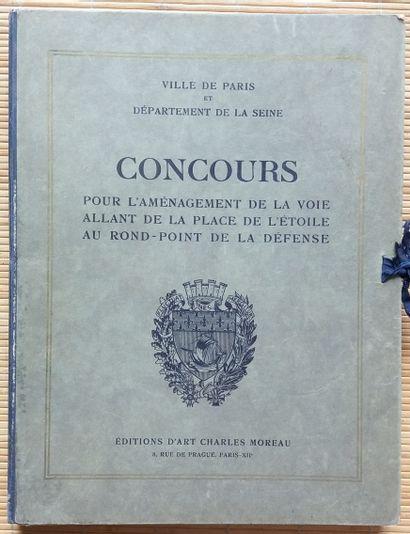 [ARCHITECTURE] 1 portfolio. *Ville de Paris et Département de la Seine. Concours...