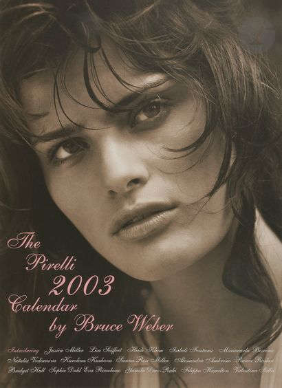 CALENDRIER PIRELLI 2003 Bruce WEBER Édition...