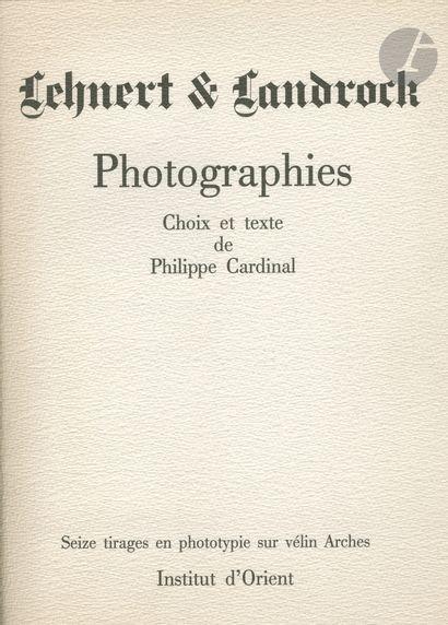 LEHNERT, RUDOLF (1878-1948) LANDROCK, ERNEST...