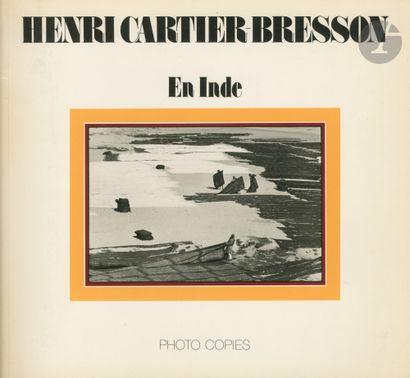 CARTIER-BRESSON, HENRI (1908-2004) [Signed]...