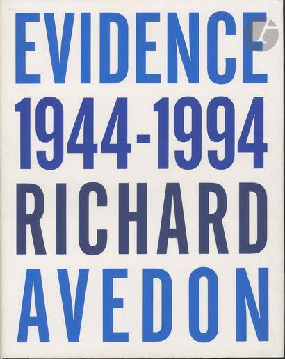 AVEDON, RICHARD (1923-2004) Evidence. 1944-1994....