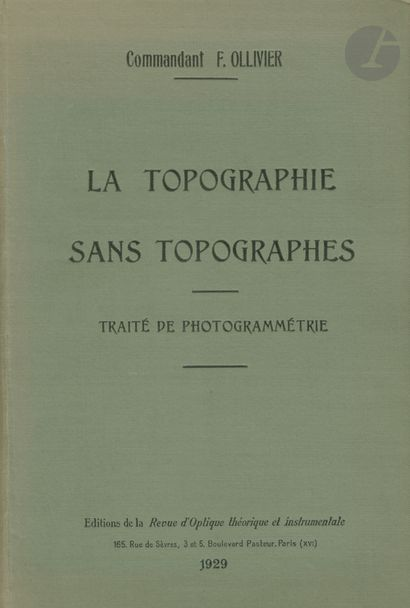 Cdt OLLIVIER, F. La Topographie sans Topographes....