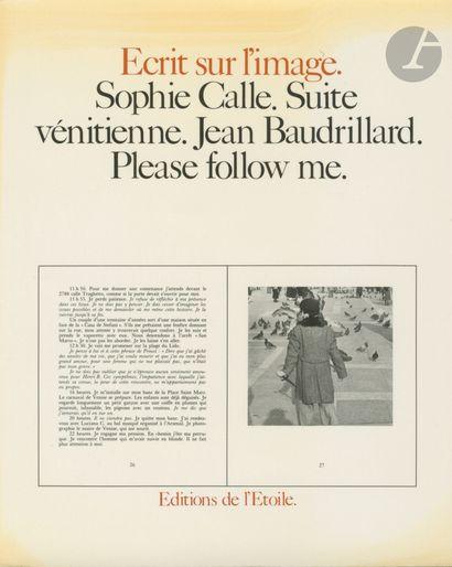 CALLE, SOPHIE (1953) Suite vénitienne. Édition...