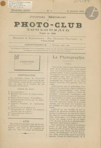 PHOTO-CLUB TOULOUSAIN Journal Mensuel du...