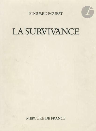 BOUBAT, ÉDOUARD (1923-1999) [Signed] La survivance....