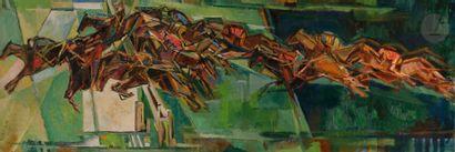 Jean CHEVOLLEAU (1924-1996) La Course, 1953...