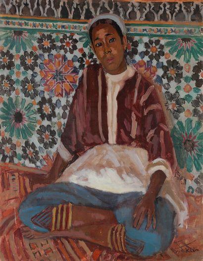 Georges André KLEIN (1901-1992) Oriental...