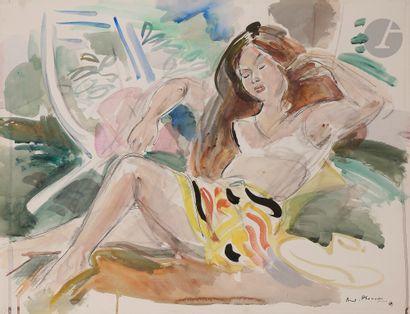 André PLANSON (1898-1981) La Belle Fertoise...