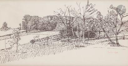 Maurice BRIANCHON (1899-1979) Le Potager...