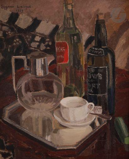 Suzanne LALIQUE (1899-1989) Régime sec, 1929...