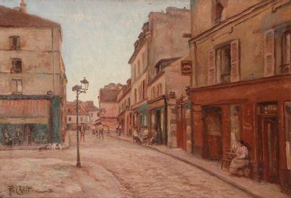 René Louis CHRÉTIEN (1867-1942) Montmartre,...