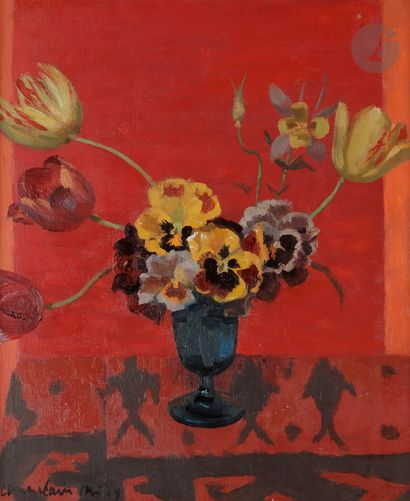 Roger CHAPELAIN-MIDY (1904-1992) Bouquet...