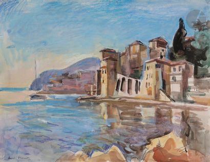 André PLANSON (1898-1981) Villefranche, le...