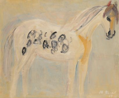 Maurice BLOND (1899-1974) Le Cheval, 1963...
