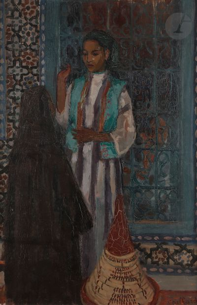 Christian CAILLARD (1899-1985) La Marocaine,...