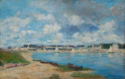 Paul-Émile LECOMTE (1877-1950) Le Départ...