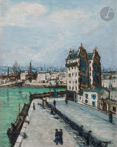 Alphonse-Léon QUIZET (1885-1955) Maison...