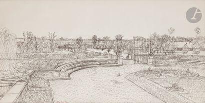 Maurice BRIANCHON (1899-1979) Le Parc du...